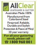 AllClear Leafguards & Gutter