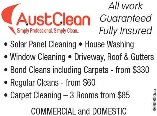 Simply Professional Simply Clean All work Guaranteed Fully Insured