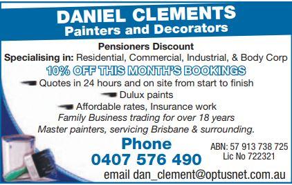 Daneil Clements Painters Decorators Painting Decorating