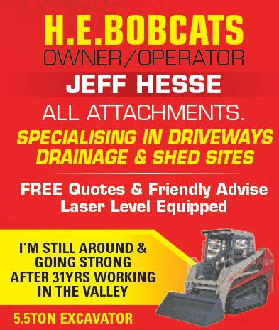 OWNER/OPERATOR JEFF HESSE 