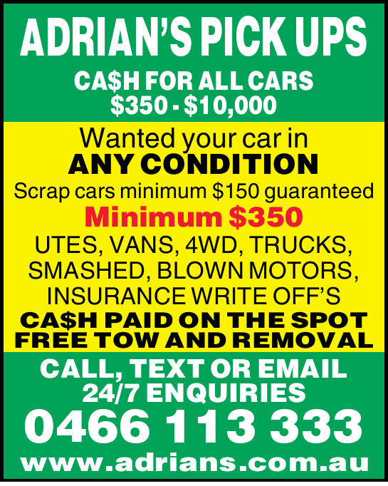 CA$H FOR ALL CARS $350 - $10,000 Wanted your car in ANY CONDITION Scrap cars minimum $150 guarant...
