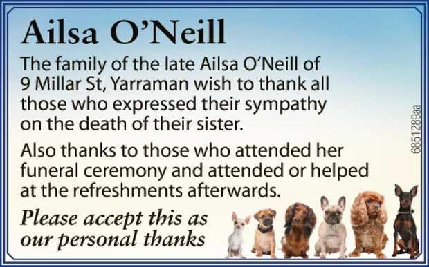 Ailsa O'Neill