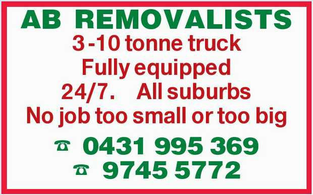 3 -10 tonne truck    Fully equipped    24/7.    All suburbs    No job too small o...