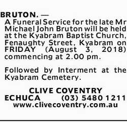 Browsing Death Notices | NSW & QLD Classifieds | Geelong