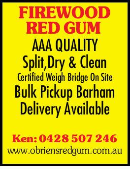 AAA QUALITY Split,Dry & Clean   Certified Weigh Bridge On Site   Bulk Pickup Barham ...