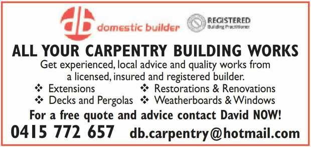 All Your Carpentry Building Works