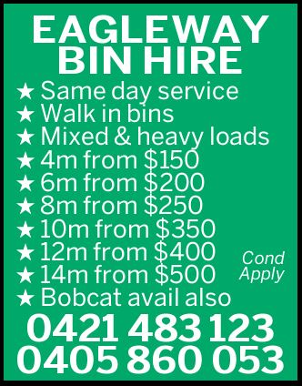 EAGLEWAY BIN HIRE 