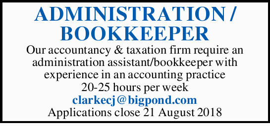 ADMINISTRATION / BOOKKEEPER