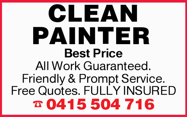 CLEAN PAINTER