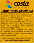 Farm Diesel Mechanic
