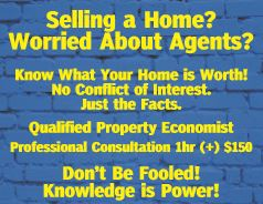 Selling a Home? Worried About Agents?   Know What Your Home is Worth! No Conflict of Interest...