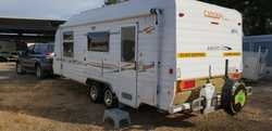 2008 CONCEPT ASCOT XLS 19' WITH OZ-PAK QUEEN BED ENSUITE. SOLAR FULL ANNEXE    ONE OWNER INCLUDES MA...