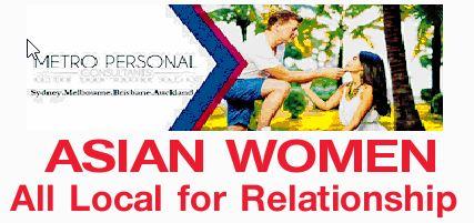 ASIAN WOMEN All Local for Relationship   metropersonal.com.au