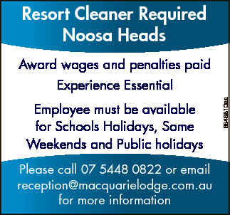 Award wages and penalties paid Experience Essential Employee must be available for Schools...