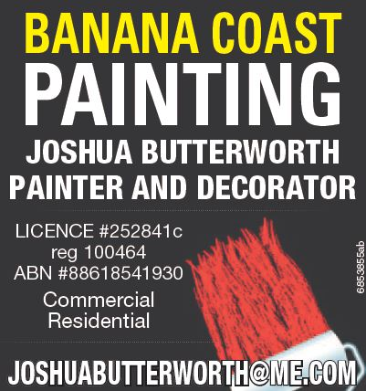 "<p align=""LEFT"" dir=""LTR""> <span lang=""EN-AU"">Joshua Butterworth Painter and...</span></p>"