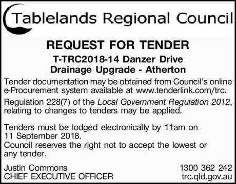 Browsing Tenders (Notices)   NSW & QLD Classifieds   Chronicle