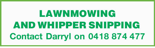 LAWNMOWING AND WHIPPER SNIPPING