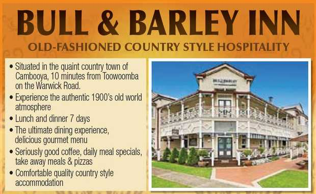 OLD-FASHIONED COUNTRY STYLE HOSPITALITY    Situated in the quaint country town of Cambooya...
