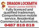 DRAGON LOCKSMITHS