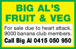 For sale due to heart attack.