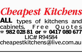 Cheapest Kitchens ALL types of kitchens and cabinets. Free Quotes  LIC#R94584 cheapestkitche...