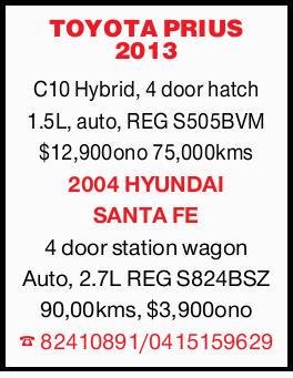 C10 Hybrid, 4 door hatch 1.5L, auto, REG S505BVM $12,900ono 75,000kms 4 door station wagon...