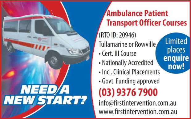Tullamarine or Rowville locations.   Cert III Course   Nationally Accredited   Incl....