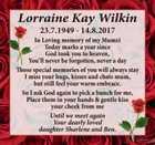 Lorraine Kay Wilkin