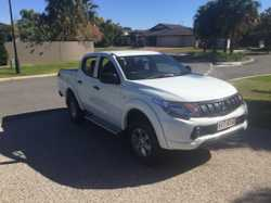 Dual cab ute as new.