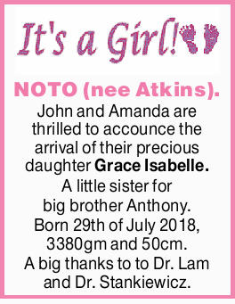 NOTO (nee Atkins).