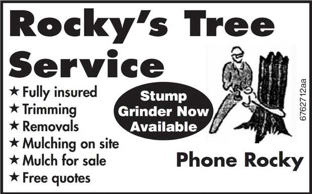 ***STUMP GINDER NOW AVAILABLE***