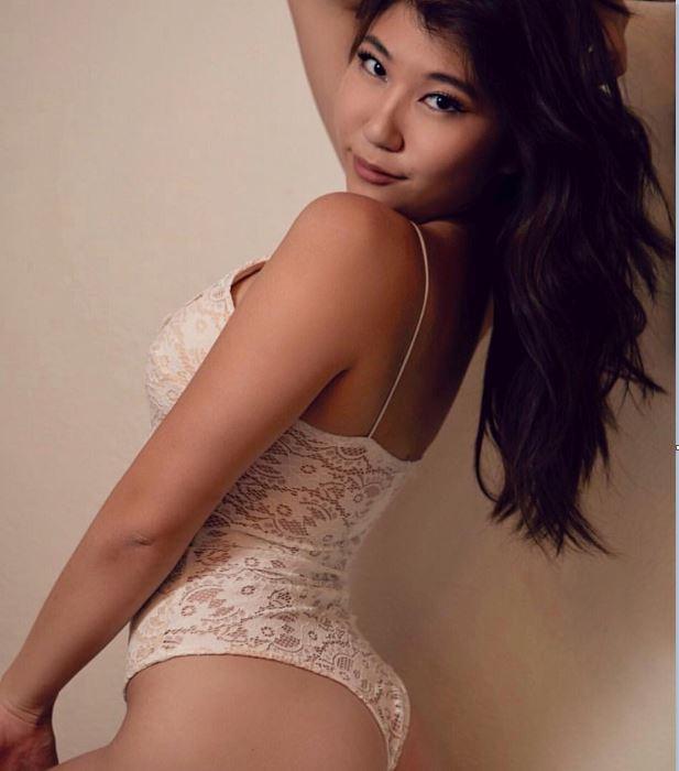 My step sister has big tits