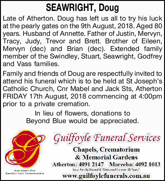 SEAWRIGHT, Doug