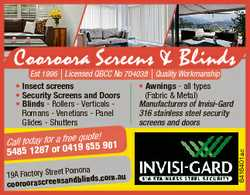 Cooroora Screens & Blinds Est 1996 | Licensed QBCC No 704038 | Quality Workmanship quote! Call t...
