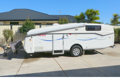 Heavily Reduced!!! 2011 Eco Tourer Fold up draw bar - stored in garage, TV, DVD, A/C, dble bed, m...