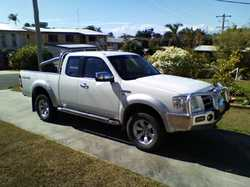 FORD Ranger 2007 XLT, 189,000ks, reg, new tyres and windscreen, alloy b/bar, style side ute space...