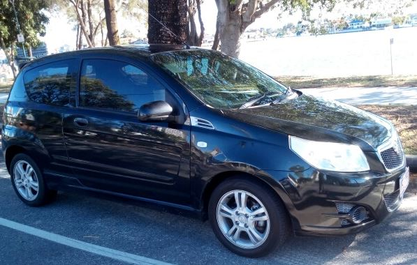 Holden Barina Nov 09