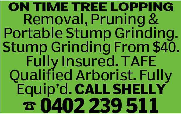 ON TIME TREE LOPPING