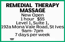 REMEDIALTHERAPY MASSAGE