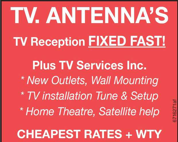 TV Reception FIXED FAST!