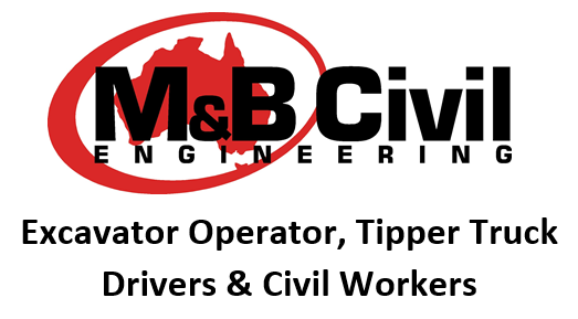 Excavator Operator, Tipper Truck Drivers & Civil Workers