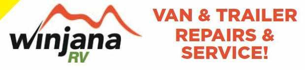 VAN & TRAILER REPAIRS & SERVICE!    Winjana RV are now offering caravan, trailer,...