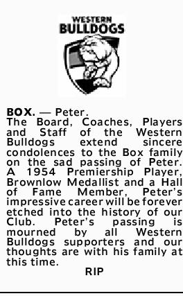 BOX. _ Peter.