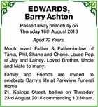 EDWARDS, Barry Ashton