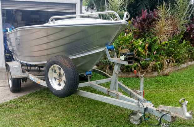 LARGE CUSTOM BUILT TINNY
