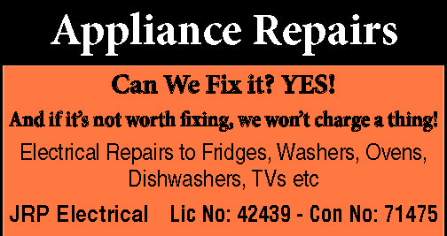 Appliance Repairs   Can We Fix it? YES!   And if it's not worth fixing, we won&rsqu...