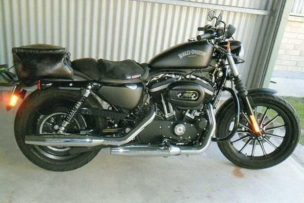 Harley Sportster, As New, 4,780kms, single seat rego, lots of extras! Elderly Owner. $10,300