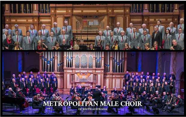METROPOLITAN MALE CHOIR OF SA PRESENTS   Sublime Classics   Crowd Favourites   Broadw...