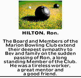 HILTON, Ron. 