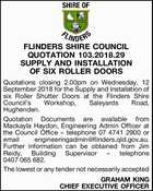 FLINDERS SHIRE COUNCIL